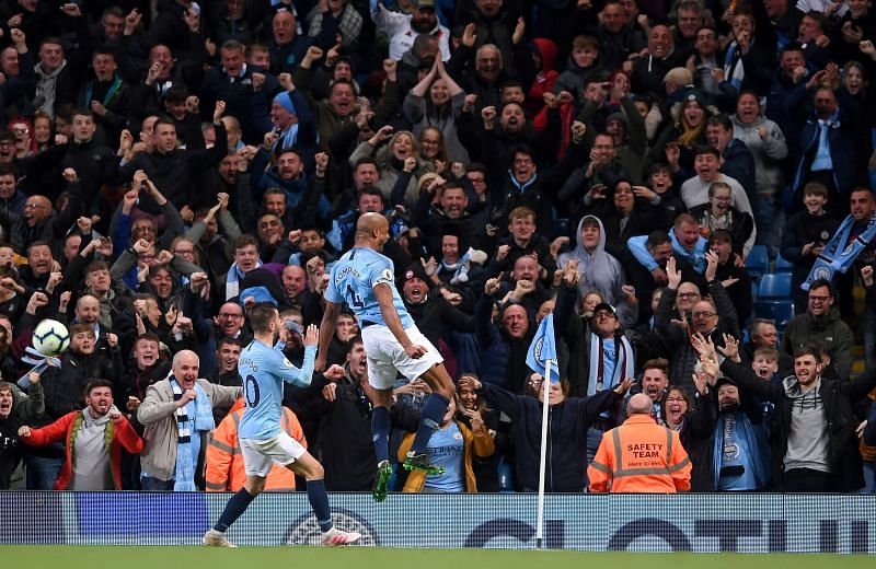 Vincent Kompany scored one of the most iconic goals in Premier League history on this day in 2019
