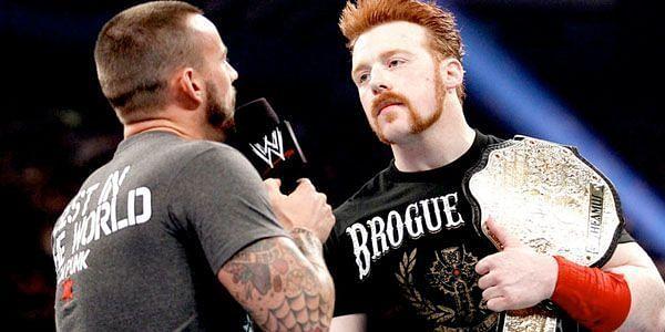 शेमस और सीएम पंक ECW में काम कर चुके हैं