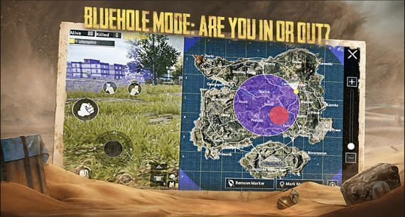 The Bluehole mode