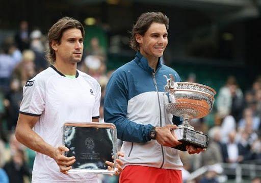 Rafael Nadal celebrates his ninth Roland Garros title