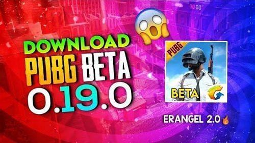 PUBG Mobile 0.19.0 beta version apk download link