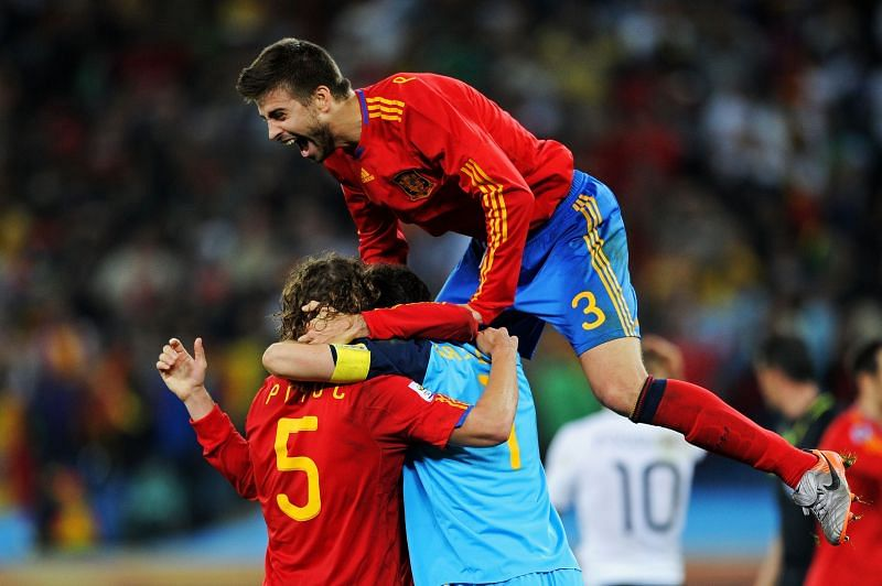 Players from Spain