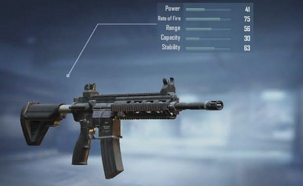 M416 with stats