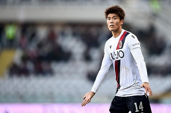 Takehiro Tomiyasu has taken to Serie A like a fish to water, firmly establishing himself at Bologna already