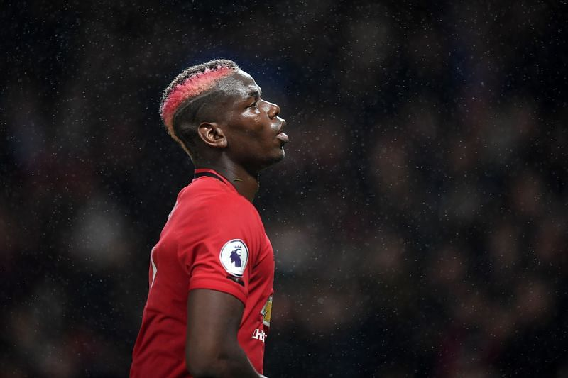 Pogba has been a controversial figure at Manchester United