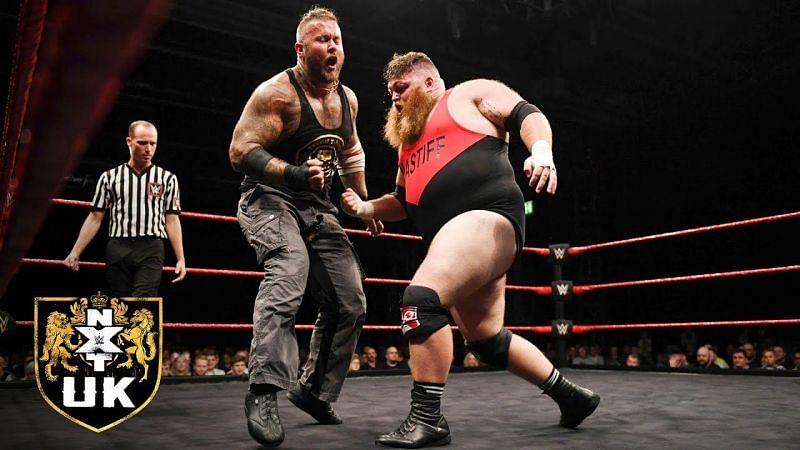 Dave Mastiff unloads on Tyson T-Bone!