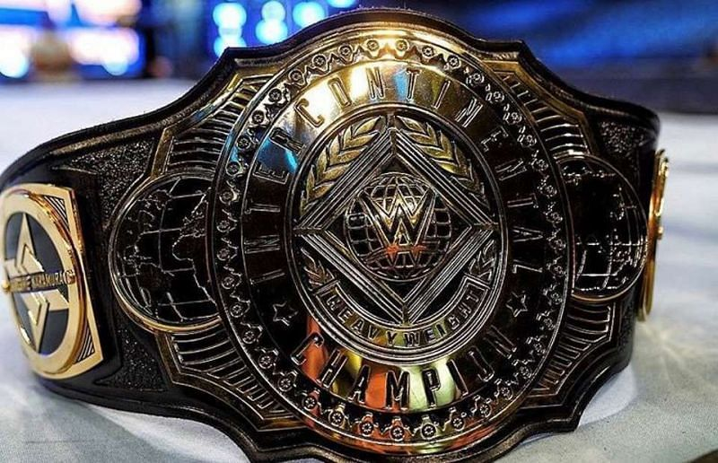 The redesigned Intercontinental Championship introduced last year!