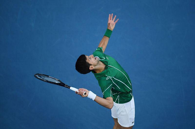Novak Djokovic has found a way to turn his serve into a potent weapon now