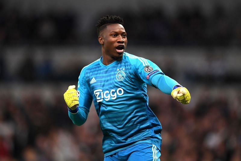 André Onana was solid between the sticks for Ajax