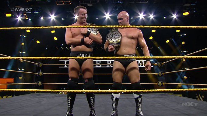 The entire NXT Tag Team division has changed