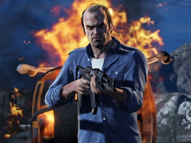 Trevor Phillips from GTA 5 is available as a Contact in GTA Online