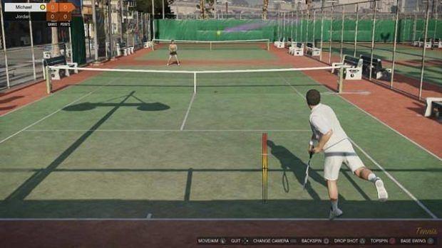 Tennis in GTA 5