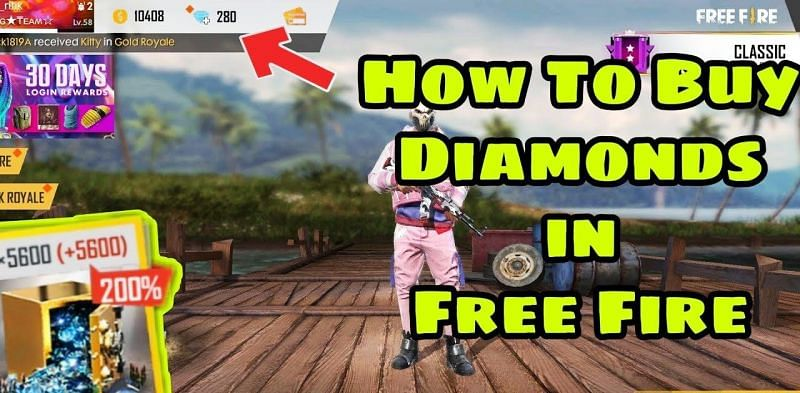 Free Fire Diamonds How To Recharge Diamonds In Free Fire