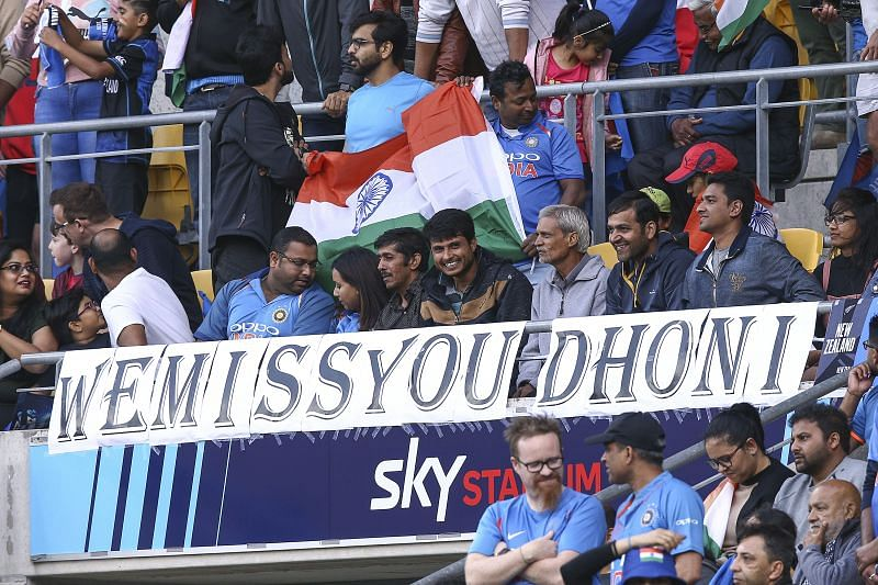 MS Dhoni has not played international cricket since July 2019