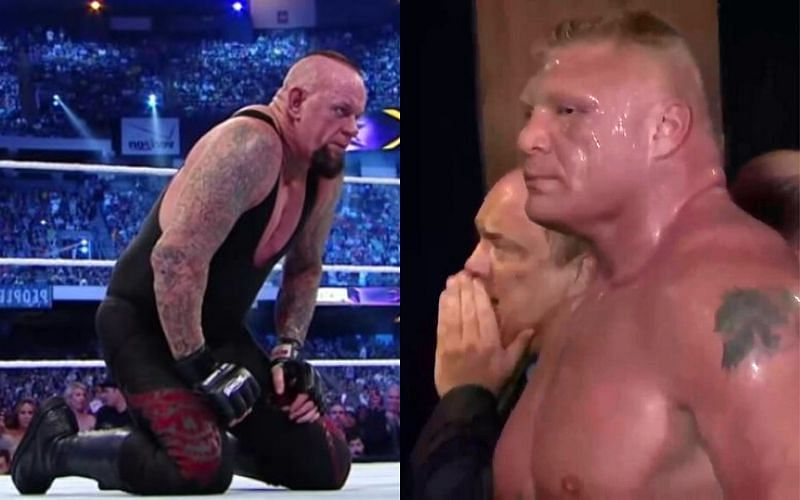 The Undertaker drowned in self-doubt after this match