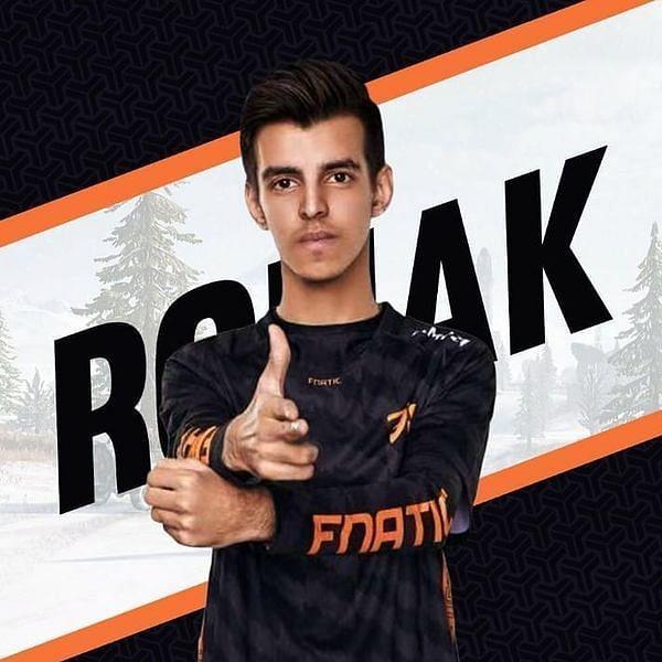 I am Fnatic RonaK (Picture Credits: Liquipedia)