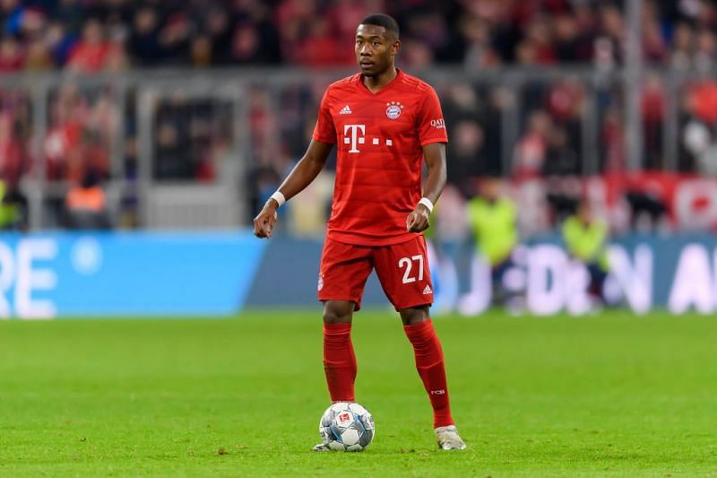 David Alaba has taken to his new role with aplomb