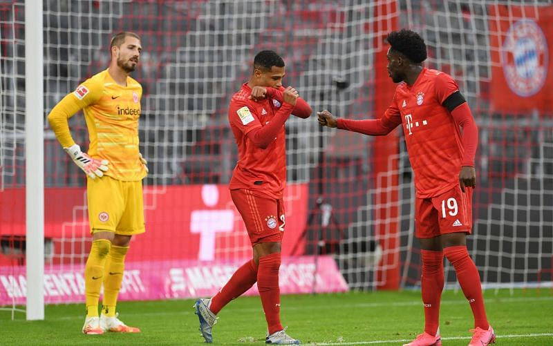 Bayern Munich claimed a convincing win over Eintracht Frankfurt at the weekend