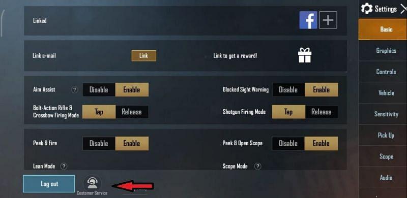 Select Customer service
