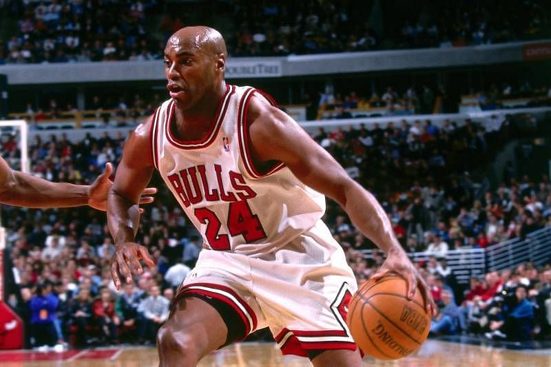 Scott Burrell, like Michael Jordan, also played both basketball and baseball