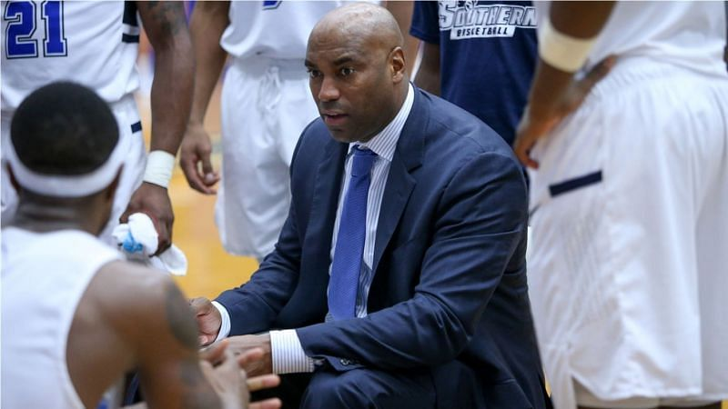 Burrell now coaches in his hometown New Haven, CT for Southern Connecticut State University