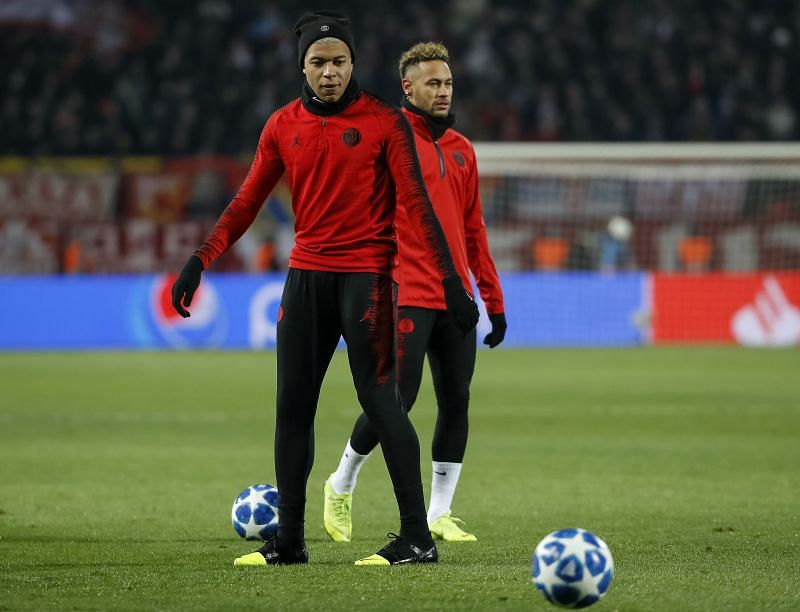 Neymar and Mbappe are also included in the list
