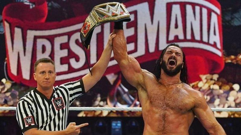 ड्रू ने रेसलमेनिया 36 में WWE टाइटल जीती थी