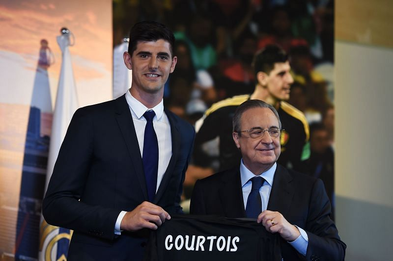 Courtois was an easy target for criticism after his big-money switch from Chelsea in the summer of 2018