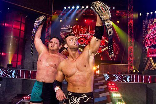 समोआ जो और मैग्नस TNA रेसलिंग में साथ