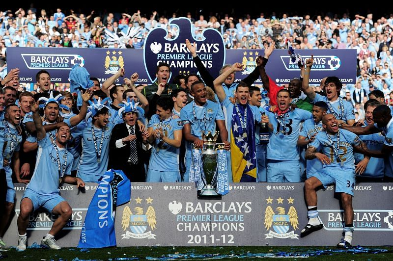 Aguero clinched the Premier League trophy for Manchester City with 90 seconds of time left on the clock