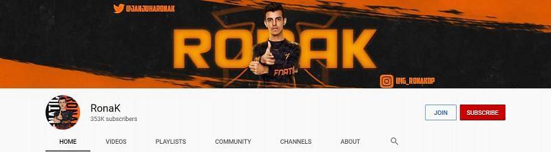 I have 353k followers on YouTube