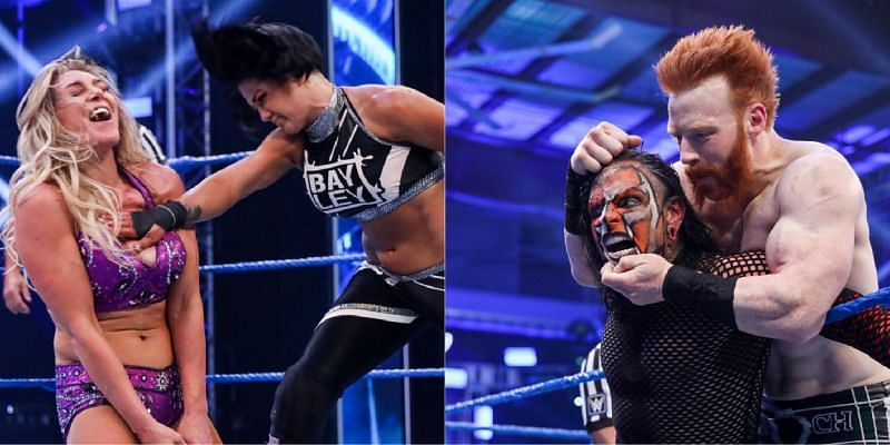 Jeff Hardy faced Sheamus in the main event!