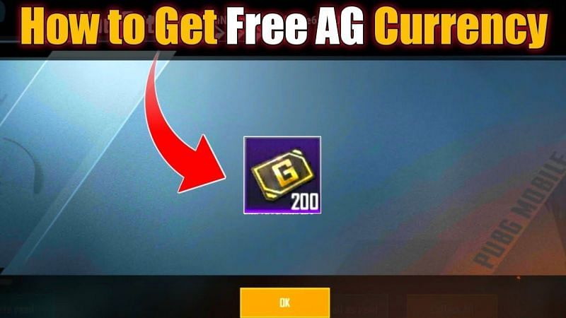 Get Free AG Currency In PUBG Mobile
