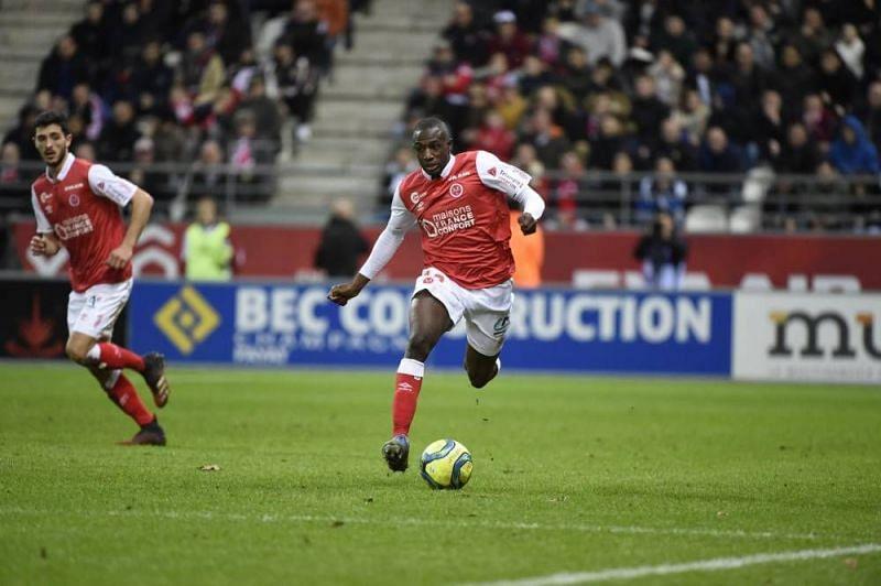 Hassane Kamara has enjoyed a spectacular season with Stade de Reims this season