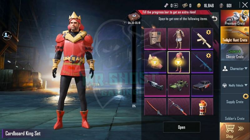 Skin and Outfit leaks