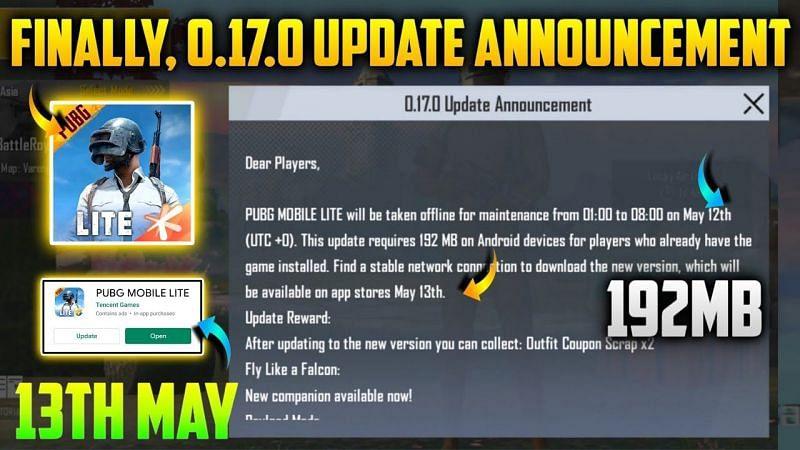 PUBG Mobile Lite 0.17.0 Update (Credits: REBLOTECH)
