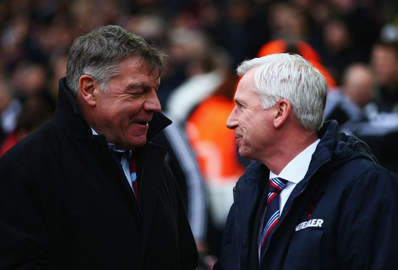 Sam Allardyce and Alan Pardew have had distinguished managerial careers.