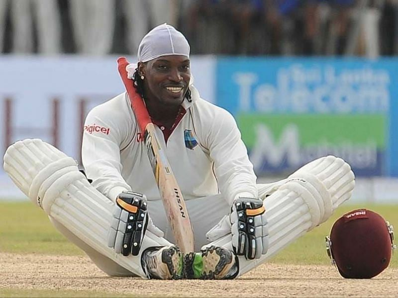 Chris Gayle has two triple-centuries to his name in Tests