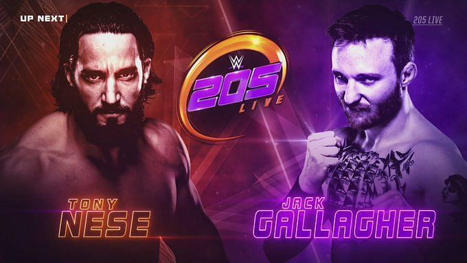 Jack Gallagher and Tony Nese put on a hard-hitting and epic main event
