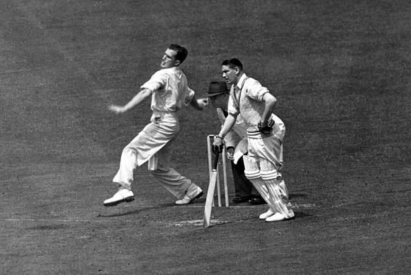 Jim Laker made his debut in January, 1948