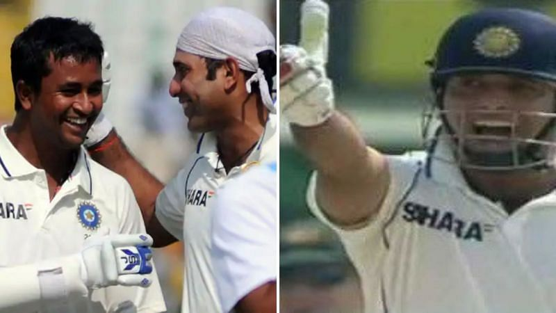 VVS Laxman was angry at Ojha during a Test match against Australia [Right]