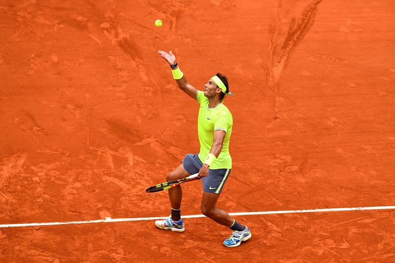 Rafael Nadal is a mental beast on the claycourts of Roland Garros