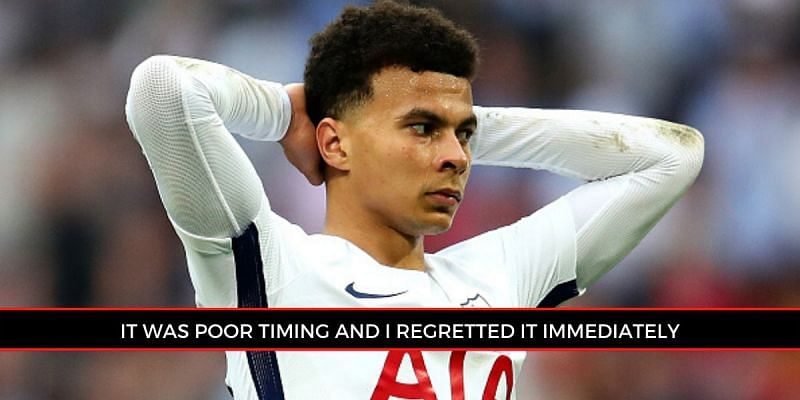 Dele Alli reveals career regrets