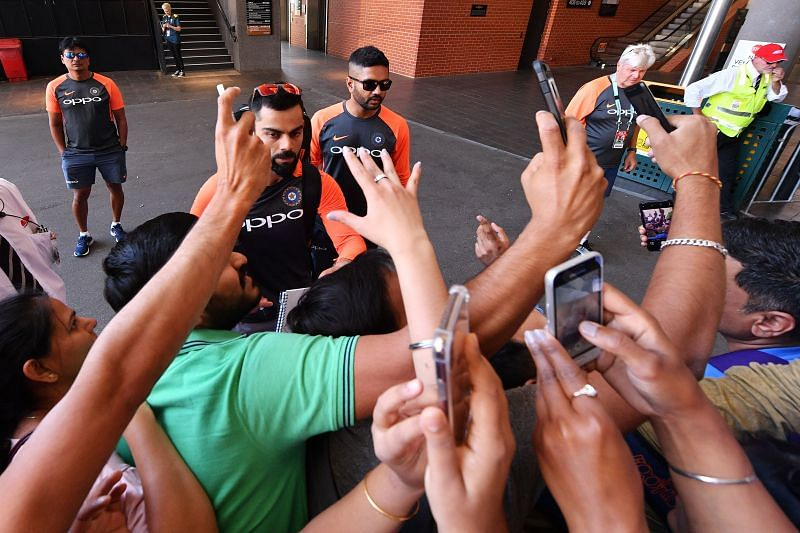 Virat Kohli is one of the most celebrated sporting icons in the country