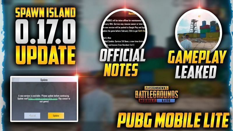 PUBG Mobile Lite 0.17.0 Update Patch Notes