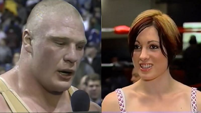 Brock Lesnar and Becky Lynch