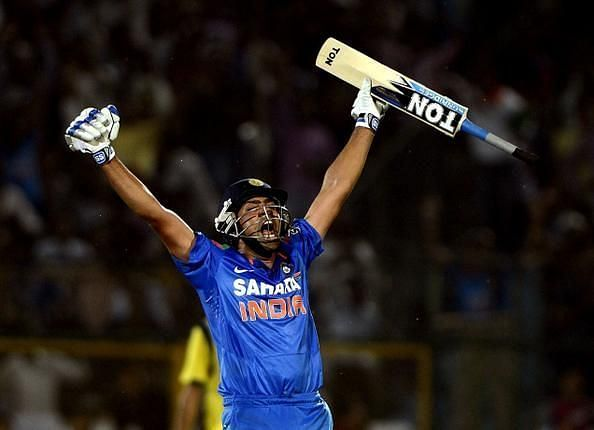 It was raining sixes from the willow of Rohit Sharma