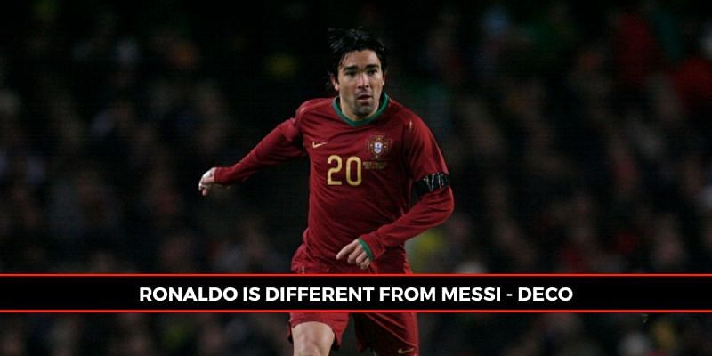 Deco remained diplomatic as ever in his Messi-Ronaldo comparisons