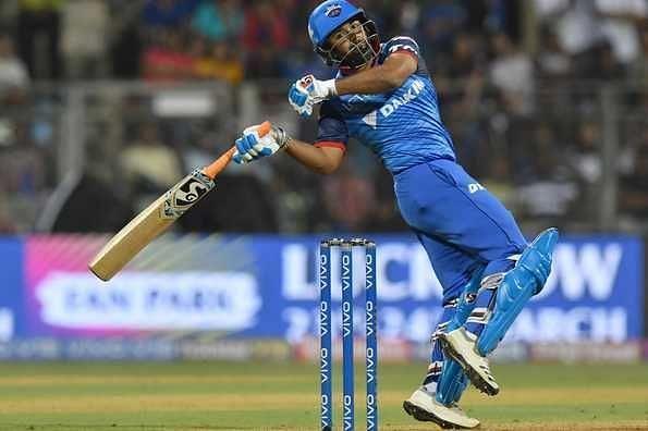 Rishabh Pant has the best batting strike rate of any Delhi Capitals player.