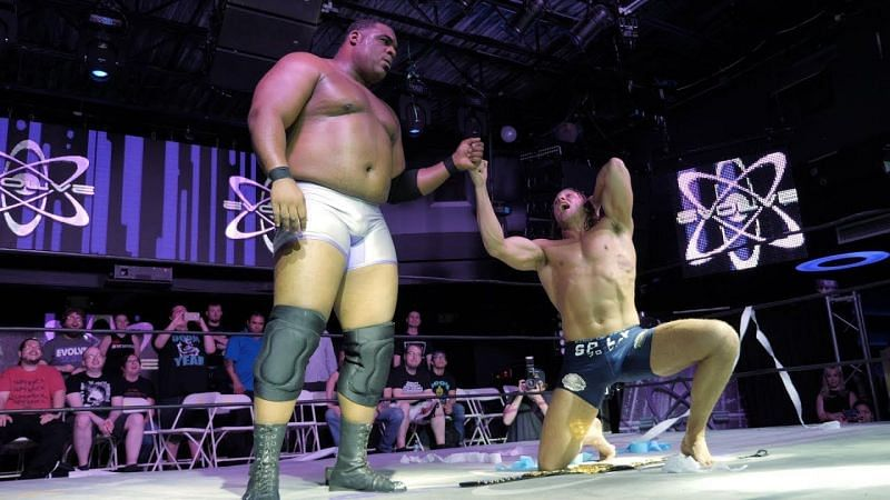 Keith Lee vs Matt Riddle would be an instant NXT classic